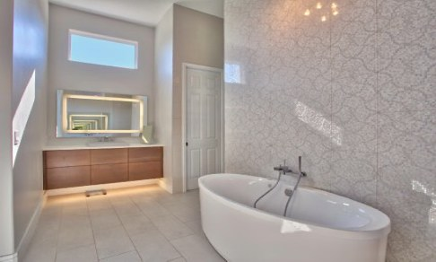 modern bathroom tampa